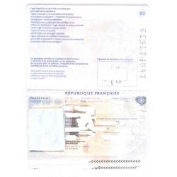 Traduction d'un passeport