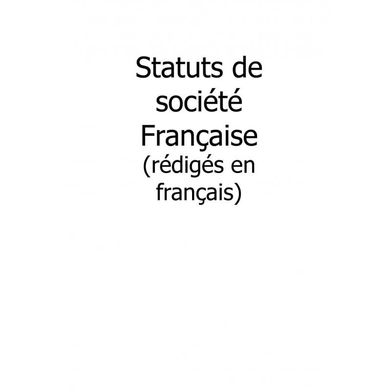 traduction asserment u00e9e anglais de statuts de soci u00e9t u00e9s