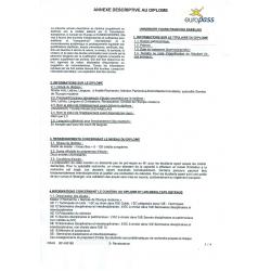 Traduction d'une annexe au diplôme