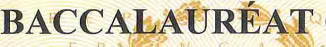 Traduction diplôme de bac, relevé de notes de bac et/ou bulletins scolaires (assermentée) pour inscription dans une université étrangère