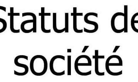Traduction assermentée de statuts de société pour vendre ou ouvrir une filiale à l'étranger